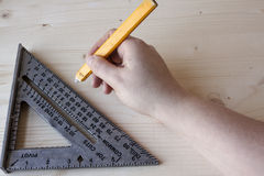 μέτρηση των εργαλείων Στοκ Φωτογραφία