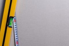 μέτρηση των εργαλείων Στοκ εικόνα με δικαίωμα ελεύθερης χρήσης