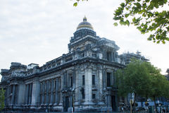 Μέτωπα παλατιών, του Βορρά και ανατολής δικαιοσύνης των Βρυξελλών Στοκ Φωτογραφία