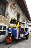 Μέτωπο αυτοκινήτων μηχανικών δίκυκλων Tuk Ταϊλάνδη Tuk Στοκ Φωτογραφία