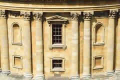 Μέτωπο βιβλιοθηκών Bodleian στοκ εικόνες