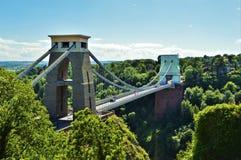 Μέτωπο γεφυρών αναστολής του Clifton Στοκ φωτογραφία με δικαίωμα ελεύθερης χρήσης