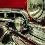 Μέτωπο ενός κλασικού αυτοκινήτου στοκ εικόνες με δικαίωμα ελεύθερης χρήσης