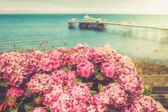 Μέτωπο θάλασσας Llandudno βόρεια Ουαλία, Ηνωμένο Βασίλειο Στοκ Εικόνες