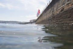 Μέτωπο θάλασσας Penzance στο θερινό χρόνο Στοκ φωτογραφίες με δικαίωμα ελεύθερης χρήσης