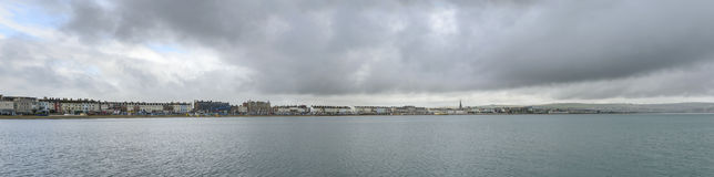 Μέτωπο θάλασσας Weymouth, Dorset Στοκ Εικόνες