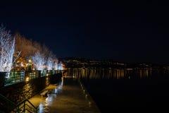 Μέτωπο λιμνών Στοκ εικόνες με δικαίωμα ελεύθερης χρήσης