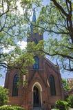 Μέτωπο και καμπαναριό εκκλησιών ορόσημων στη Νέα Ορλεάνη στοκ φωτογραφίες με δικαίωμα ελεύθερης χρήσης