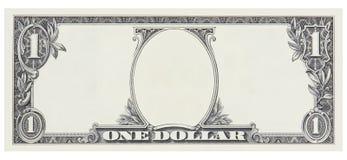 Μέτωπο λογαριασμών ενός δολαρίου κενό κανένα πλαίσιο προσώπου για το σχέδιο που απομονώνεται στο λευκό Δείτε τις παρόμοιες εργασί στοκ φωτογραφία με δικαίωμα ελεύθερης χρήσης