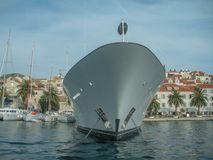 Μέτωπο της μεγάλης βάρκας Στοκ φωτογραφία με δικαίωμα ελεύθερης χρήσης
