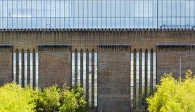 Μέτωπο της στοάς του Tate Modern στοκ φωτογραφία