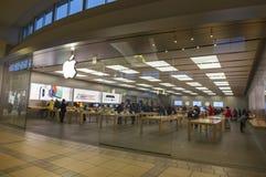 Μέτωπο της Apple Store Στοκ Εικόνα