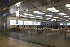 Μέτωπο της Apple Store Στοκ εικόνα με δικαίωμα ελεύθερης χρήσης