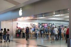 Μέτωπο της Apple Store Στοκ φωτογραφίες με δικαίωμα ελεύθερης χρήσης