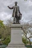 Μέτωπο του αγάλματος Cartier στην πόλη Καναδάς του Κεμπέκ στοκ φωτογραφία με δικαίωμα ελεύθερης χρήσης
