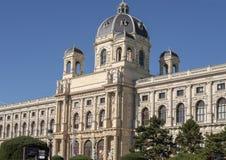 Μέτωπο του μουσείου φυσικής ιστορίας, Μαρία-Thiersien-Platz, Βιέννη, Αυστρία στοκ φωτογραφίες με δικαίωμα ελεύθερης χρήσης
