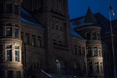 Μέτωπο του παλαιού κτηρίου στοκ φωτογραφία με δικαίωμα ελεύθερης χρήσης