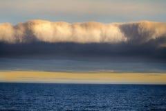 Μέτωπο του συστήματος σύννεφων Στοκ Φωτογραφίες