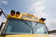 Μέτωπο του σχολικού λεωφορείου Στοκ Εικόνα