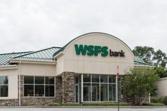 Μέτωπο τράπεζας WSFS, στοκ εικόνες