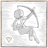 Μέτωπο Cupid Στοκ Φωτογραφία