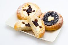 Ψημένες πίτες Στοκ Εικόνες