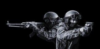 Μέλη του τμήματος ειδικών δυνάμεων Στοκ εικόνα με δικαίωμα ελεύθερης χρήσης