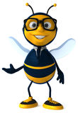 Μέλισσα διασκέδασης Στοκ Εικόνες