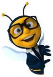 Μέλισσα διασκέδασης Στοκ εικόνα με δικαίωμα ελεύθερης χρήσης