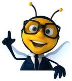 Μέλισσα διασκέδασης Στοκ εικόνες με δικαίωμα ελεύθερης χρήσης
