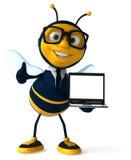 Μέλισσα διασκέδασης Στοκ Φωτογραφία