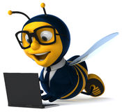 Μέλισσα διασκέδασης απεικόνιση αποθεμάτων