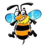 Μέλισσα κινούμενων σχεδίων Στοκ φωτογραφία με δικαίωμα ελεύθερης χρήσης