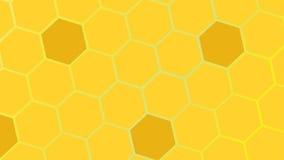 Μέλισσες κυττάρων Στοκ Φωτογραφίες
