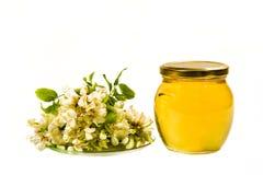 Μέλι ακακιών Στοκ εικόνα με δικαίωμα ελεύθερης χρήσης