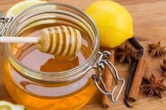 Μέλι εσπεριδοειδών Στοκ Φωτογραφία