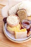 Μέλι και επεξεργασία SPA Στοκ φωτογραφία με δικαίωμα ελεύθερης χρήσης