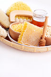 Μέλι και επεξεργασία SPA Στοκ εικόνα με δικαίωμα ελεύθερης χρήσης