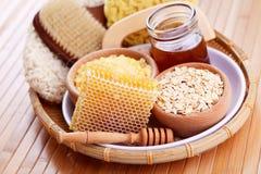 Μέλι και επεξεργασία SPA Στοκ Φωτογραφίες