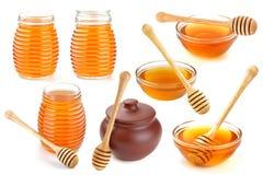 μέλι που απομονώνεται Στοκ φωτογραφία με δικαίωμα ελεύθερης χρήσης