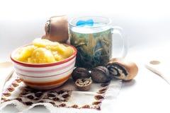 Μέλι στην κουζίνα Στοκ Εικόνες