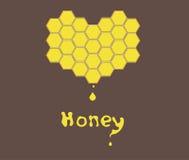 Μέλι διανυσματική απεικόνιση