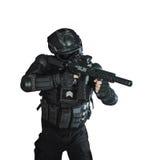Μέλος της ομάδας SWAT Στοκ φωτογραφίες με δικαίωμα ελεύθερης χρήσης