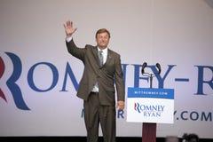 Μέλος του Κογκρέσσου Paul Ryan Στοκ εικόνα με δικαίωμα ελεύθερης χρήσης