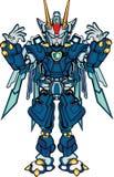 Μέλος του σώματος robo Γ διανυσματική απεικόνιση
