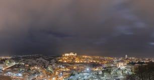 Μέλφι τή νύχτα Στοκ φωτογραφία με δικαίωμα ελεύθερης χρήσης