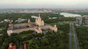 Μήκος σε πόδηα κηφήνων στο Βουκουρέστι απόθεμα βίντεο