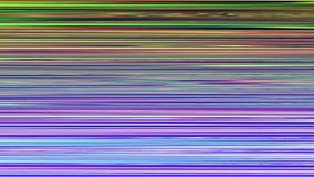 Μήκος σε πόδηα παρέμβασης περιτύλιξης τηλεοπτικό Μίμηση ενός βίντεο Datamoshing απόθεμα βίντεο