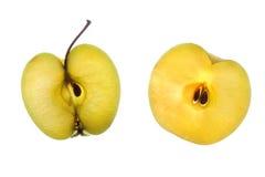 μήλα δύο Στοκ Εικόνα