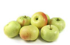 μήλα επτά στοκ φωτογραφίες